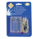 Snow White Battery Operated Rice Lights 20 - Assorted Colours