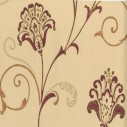 Belgravia Moda 312 Alyssa Red on Cream Wallpaper