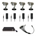 4 Camera Home DIY CCTV Security Package 2