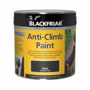 Blackfriar Anti Climb Paint Asssorted Sizes Black or Grey