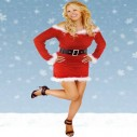 Christmas Minx Mrs Clause Fancy Dress Costume