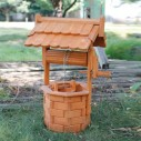 Natura Wooden Wishing Well