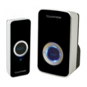 Lloytron Portable Wireless Mains Plug-in Black Door Bell