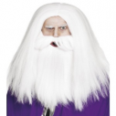 Smiffys Magician 26693 Beard and Wig Fancy Dress Accessory