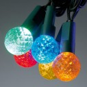 LED Cherry Lights Set of 100: Blue - Multi-Colour - White