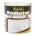 Rustins Radiator Paint Satin 250ml or 500ml