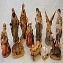 Christmas Blessings 11 Pc Nativity Crib Figure Set
