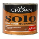 Crown Solo Gloss Assorted Colours - 750ml or 2-and-a-half L