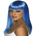 Smiffys Glamour Glamourama Wig: Blonde - Red - Brown - Blue