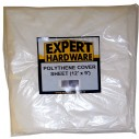Expert Hardware Plastic Dust Sheet 12 foot x 9 foot
