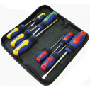 Faithfull 9 Piece Screwdriver Set in Zip Case