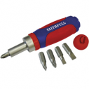 Faithfull Stubby Ratchet Screwdriver