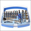 Faithful 42 Piece Colour Coded Screwdriver Bit and Socket Set