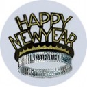 Fun Machine Happy New Year Tiaras 4 Pack