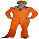 Orange Dumb and Dumber Style Suit