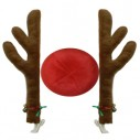 Reindeer Car Decoration 2 x Antlers and 1 red nose
