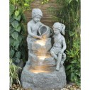 Robyn Boy and Girl Waterfall Water Feature