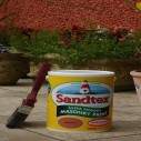 Sandtex Smooth Masonary Paint Colours 2-and-a-half L or 5L