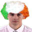 Tri Colour Curly Wig  St Patricks