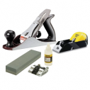 Stanley Number 4 Plane plus Block Plane and Sharpening Kit
