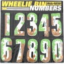 Jumbo Wheelie Bin Numbers Self Adhesive