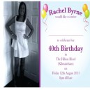 Personalised Invites Postcard Size - Print Both Sides