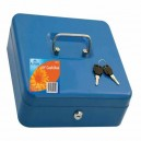 Metal Locking Cash Box Assorted Sizes