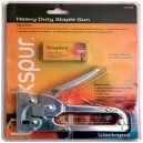 Blackspur Heavy Duty Staple Gun with staples