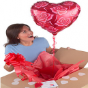 Love Heart Balloon in a Box