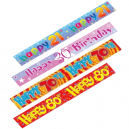 9 Foot Party Banners for All Occasions