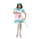 Blood Splattered Nurse Fancy Dress Costume