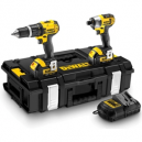 DeWALT 18V Combi Drill and Impact Driver Twin Pack