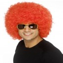 Funky Afro Fancy Dress Wig - Red or Black