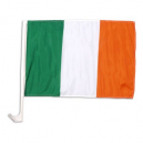 Ireland Car Flag - Suitable for Patricks Day 2 Pack