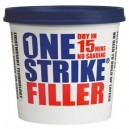 One Strike Filler Lightweight No Sanding Filler