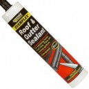 Everbuild Roof and Gutter Sealant 310ml Black