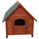 Wooden Dog Kennel Pitched Roof