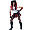 Punk Lady Fancy Dress Costume