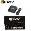 Revez QDROID Android Smart TV Box 013545 KODI TT TV BOX