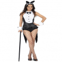 Tuxedo Bunny Playboy Fancy Dress Costume