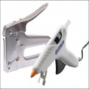 Arrow Heavy-Duty Tacker and Free Professional Glue Gun