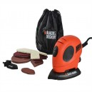 XMS15MOUSE Black and Decker Mouse Sander and Free Accessory Pack
