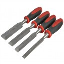 XMS15CHISEL4 Faithfull Chisel Set 4 Piece and Storage Wallet