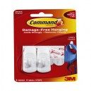 Command Hook Adhesive 17082 Designer Small Hook