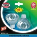 Eveready Halogen 35W Energy Saver MR16 Lamps 2 Pack