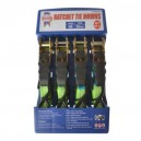 Faithfull 4 Piece ratchet Tie Down Set