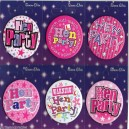 Hen Party Badges 6 Pack