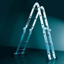 4 Way Hinged Multi-Position Ladder
