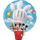 Mickey Mouse Hot Air Balloon Super Shape Disney Balloon