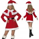 Cool Yule Miss Santa Fleece Costume